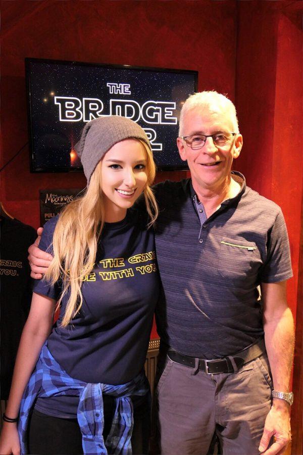 Emma at the Bridge Bar