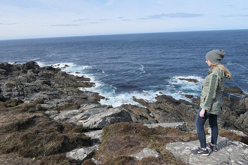 Emma Loggins in Ireland